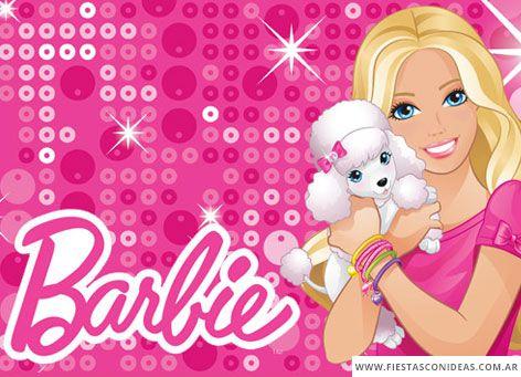 invitacion de cumpleanos de barbie