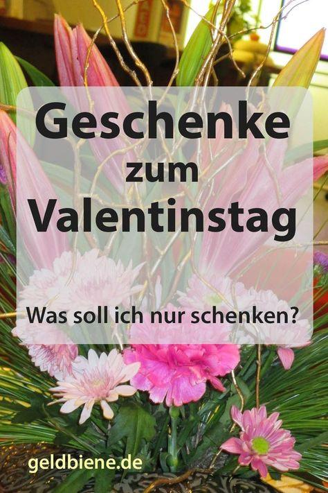 Valentinstag mann auch was schenken