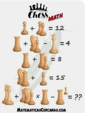 Chess Math Puzzle Puzzle Puzzles Brainteasers Maths Puzzles Chess Puzzles Chess