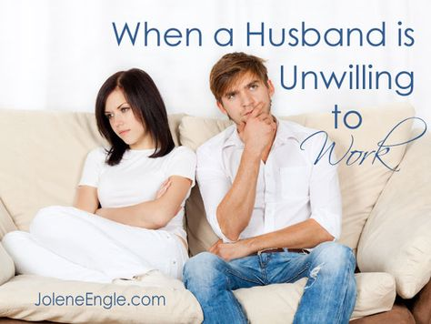 Could a man be so wrapped up in his hobby that he refuses to work and provide for his family?  Yep, it's possible and sadly, it's happening in our society today.
