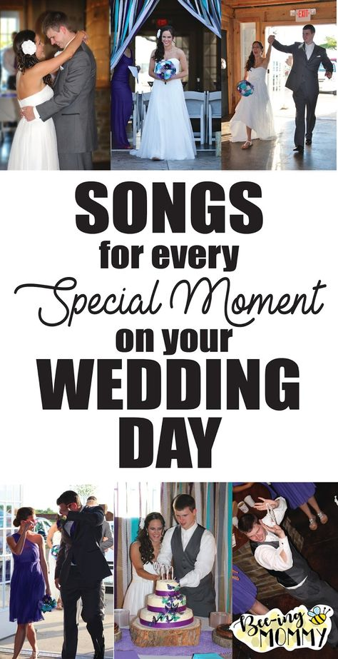 Wedding Song Ideas for those Special Moments Songs for Every Special Moment on your Wedding Day: First Dance, Garter Toss, Cake Cutting, even Dance Songs for the Reception Best Wedding Songs, Wedding Dance Songs, Wedding Playlist, Wedding Music, Wedding Bells, Dream Wedding, Wedding Day, Country Songs For Wedding, Wedding Songs Reception