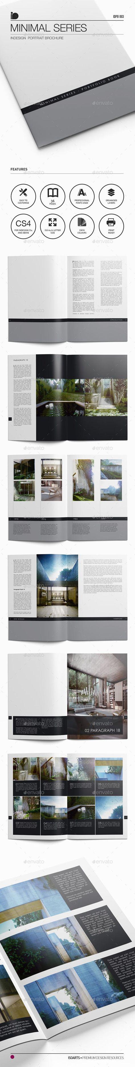 Portrait Brochure • Minimal Series