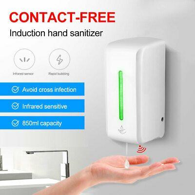 850ml Automatic Liquid Soap Dispenser Touchless Ir Sensor Hand Free Wallmounted Ebay In 2020 Foam Soap Dispenser Liquid Soap Soap Dispenser