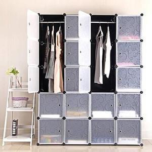 Armoire De Chambre Penderie 20 Cubes Laras Modulable Meuble Etageres De Rangement Pour Vetements Cha Diy Home Furniture Shoe Storage Wardrobe Wardrobe Storage