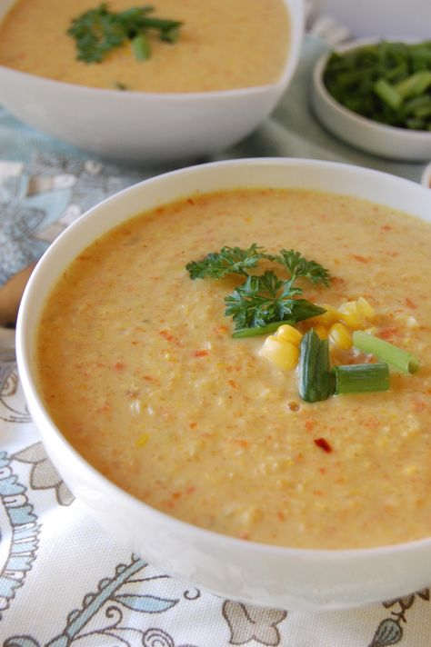 Vegetable Corn Chowder: use up the end of summer corn to make this nutritious and easy soup // A Cedar Spoon