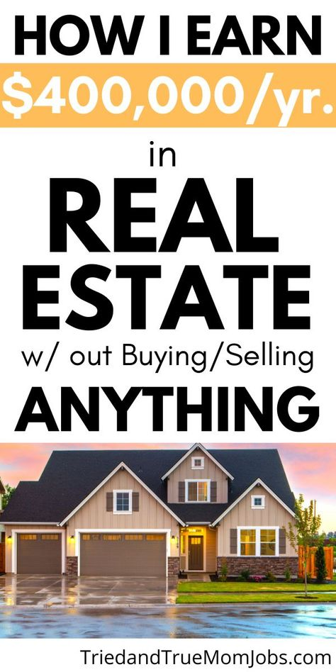 Real Estate Business Plan, Real Estate Jobs, Online Real Estate, Selling Real Estate, Real Estate Investing, Investment Property, Rental Property, Property Investor, Earn Money From Home