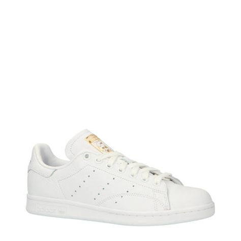 adidas originals Stan Smith W leren sneakers wit - Adidas ...