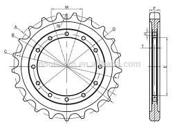 Pulley Bracket Sprocket Assembly With Stainless Steel Roller Chain