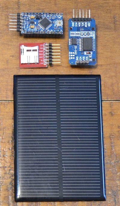 Solar Powered Arduino Pro Mini Small Solar Panels Arduino Projects Solar Charger
