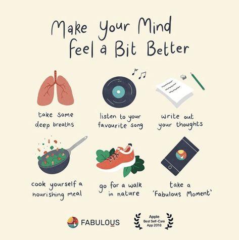 Make your Mind Feel a Bit Better – Fabulous Magazine