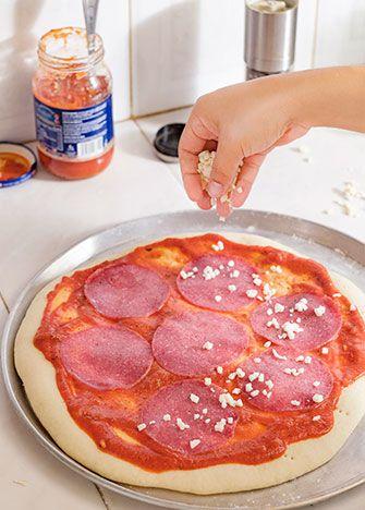 Cómo Hacer Masa Para Pizza Receta Paso A Paso Masa Para Pizza Hacer Pizza Casera Receta Para Hacer Pizza