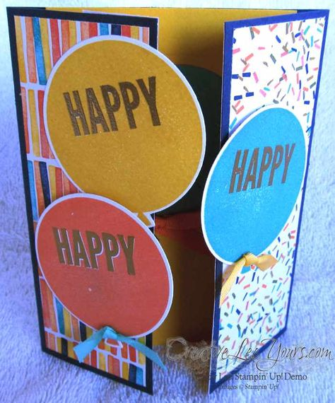 Celebrate Today Birthday by Wendy Lee, #creativeleeyours, Stampin' Up!, Sneak Peak Card