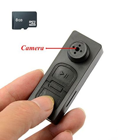 Mini HD 1080p Button Camera Camcorder Video Recorder DV Spy Hidden Pinhole Hot