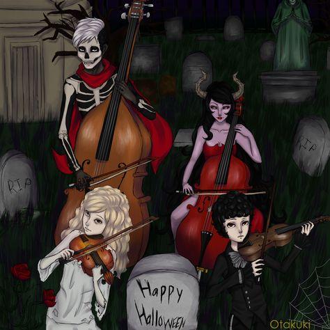 63 Ideas De Violinista Macabro Macabro Violinista Violines