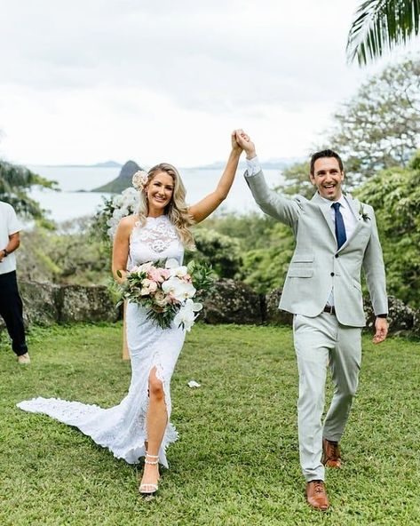With the help of your personal Modern Elopement Wedding Concierge, all you have to do is say I do! It doesn't get more effortless than that. This couple wanted a gorgeous ceremony, tropical destination, and a traditional elopement. It was just the two of