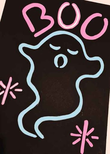 How To Paint A Fake Neon Lights Sign Tiktok Art Diy Trend In 2021 Neon Light Signs Neon Painting Black Paper Drawing