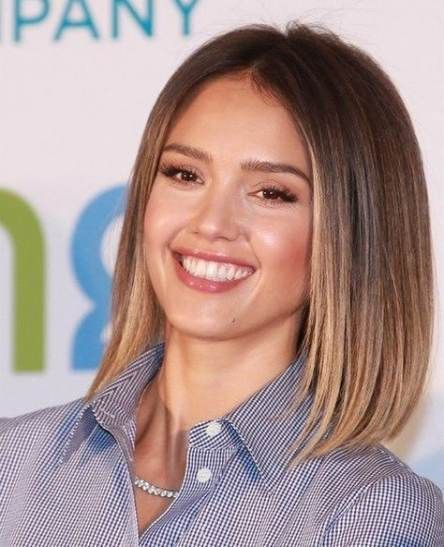 Hair Balayage Shoulder Length Jessica Alba 42 Ideas Braids For Medium Length Hair Hair Lengths Hair Styles