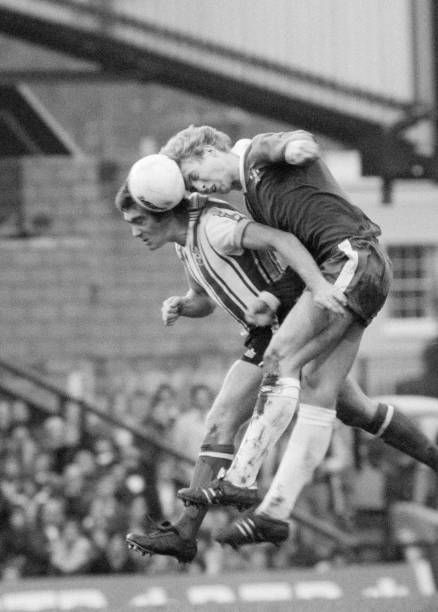 Chelsea 3 Southampton 1 in Oct 1976 at Stamford Bridge. Steve ...