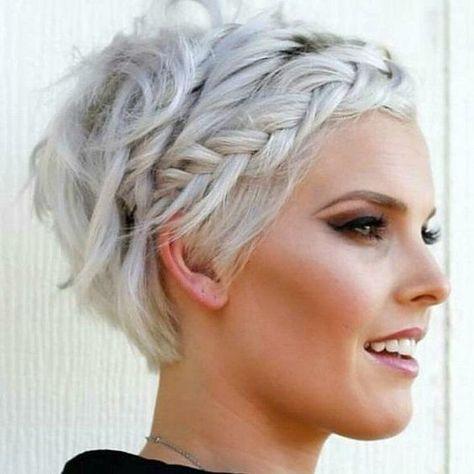 20 schöne leichte frisuren auf kurzem haar   frisur