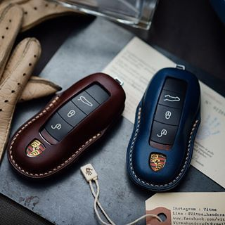 Italian Leather Key Fob Ideal Gift Man City Leather Keyring In Gift Box