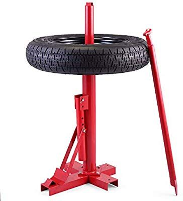 Amazon Com Jaxpety Red New Tools Tire Changer Manual Tire Changer Heavy Duty Changer Bead Breaker Automotive Heavy Duty Tire Red