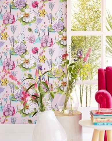 Le Papier Peint « Flower Power » ! | La joie des fleurs