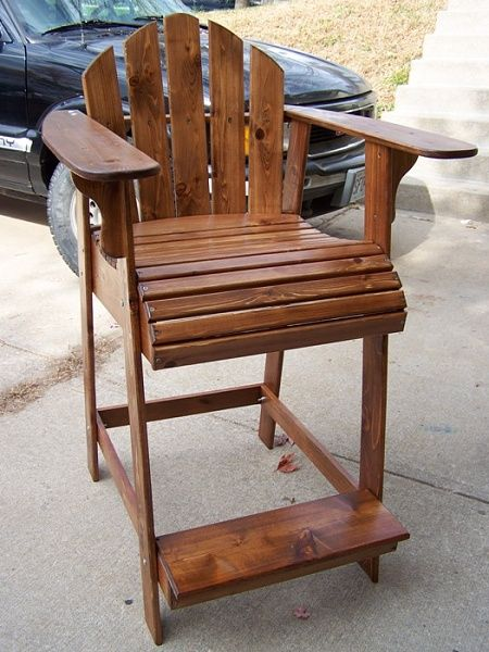 Tall Adirondack Chair Projects I Might Try Pinterest Chairs Plans And