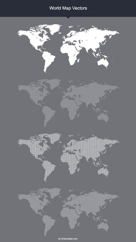 Vector low poly world map Low poly, Creative and Graphics - copy world map vector graphic