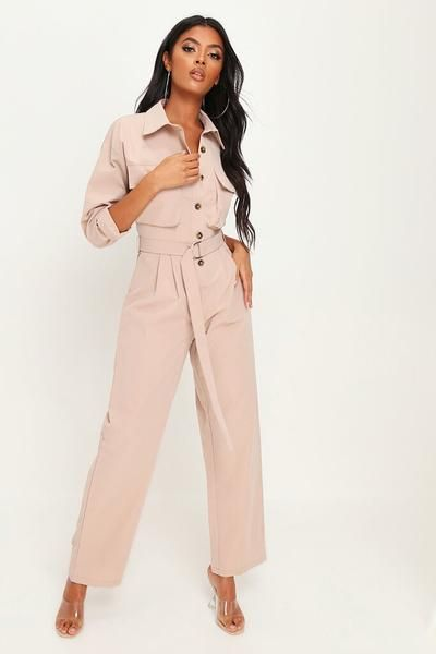 Stone belted utility boiler suit | Boiler suit, Suits for
