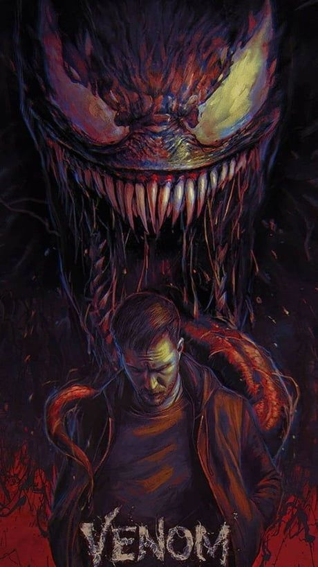 Here have a awesome wallpaper of upcoming venom !