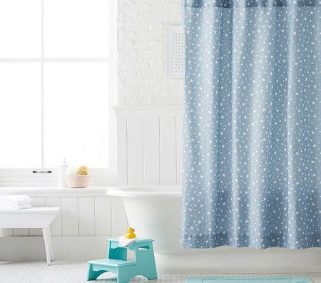 Star Shower Curtain Curtains Space Saving Beds Shower
