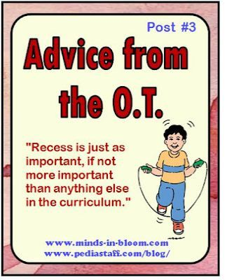 Advice from the OT:  Why Kids Need Recess and PE for Academic Success