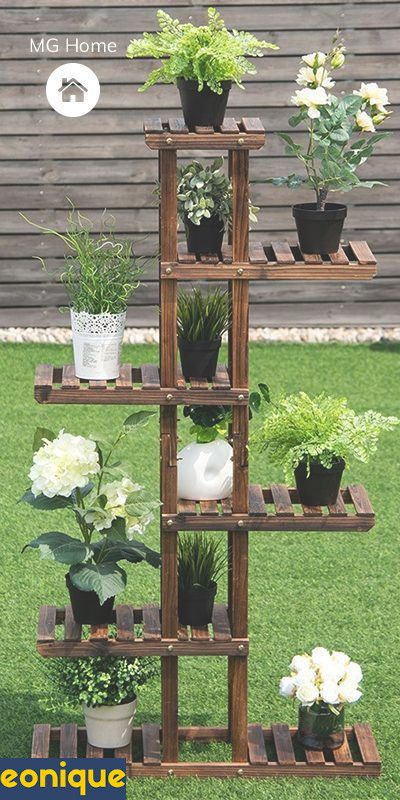 16 Awesome Diy Display Shelves Ideas Em 2020 Prateleiras De Jardim Jardins Pequenos Ideias De Jardinagem