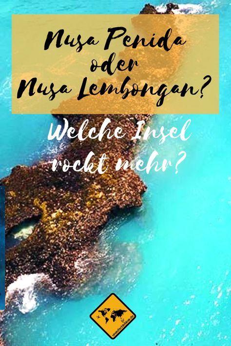 Stellst du dir gerade die Frage, ob du besser nach Nusa Penida oder Nusa Lembongan reisen sollst? Wir haben die Entscheidungshilfe für dich! Klicke hierzu einfach aufs Bild. #NusaPenida #NusaLembongan #Bali