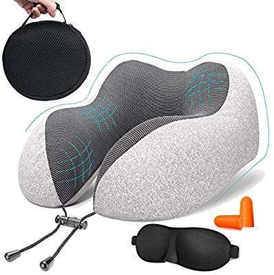 Travel Pillow Luxury Memory Foam Neck