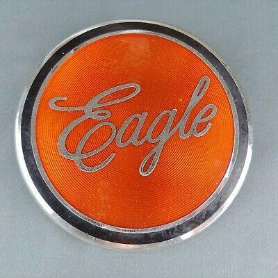 International Harvester Eagle Emblem Vtg 5 5 Inch Orange Ornament