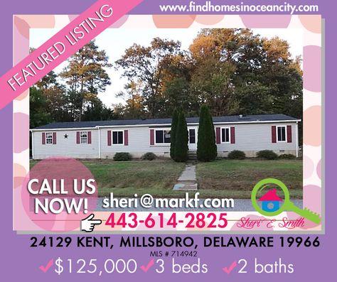 Featured Listing: 24129 Kent, Millsboro, Delaware 19966