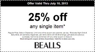 image regarding Stage Stores Printable Coupons identify Bealls 25% Off. Make sure you repin and percentage as a result every person can just take