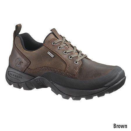 Men/'s Walking Trail Waterproof Low Cut Casual Brown Leather mountain Work Shoes