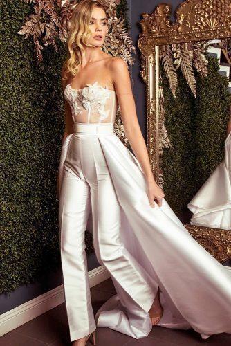 e46d8918a6 The Biggest Wedding Trends 2019 | Wedding ideas | Wedding pantsuit ...