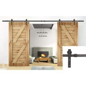 Sliding Track U Max Double Door Double Sliding Barn Doors Barn Doors Sliding Barn Door Hardware