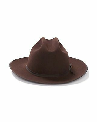 Stetson Mens 6X Open Road Fur Felt Cowboy Hat Sfoprd-052661 Silver Belly