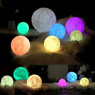 Original Luna Moon Lamp 16 Color In 2020 Luna Moon Moon Lamp