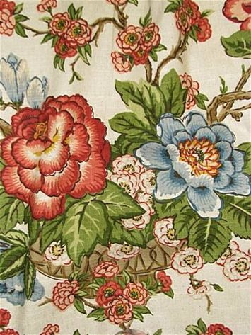 De42572 215 Duralee Fabric Floral Upholstery Fabric Floral