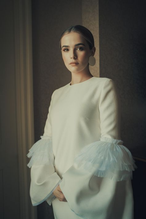 Zoey Deutch for W Magazine 2017 Met Gala Photoshoot 2017