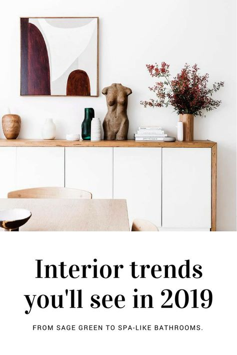 Trend forecaster Victoria Redshaw reveals the top interior design trends for 2019.