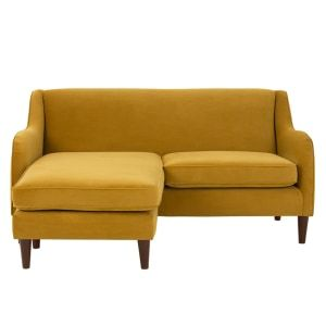 Helena 2 Sitzer Sofas Recamiere Flexibel Samt In Kurkumagelb Neues Design Fur Dein Wohnzimmer Entdecke Jetzt Bequeme Und Sch 2 Sitzer Sofa Sofa Recamiere