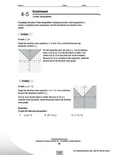Pearson Education Math Volume Worksheets Di 2020