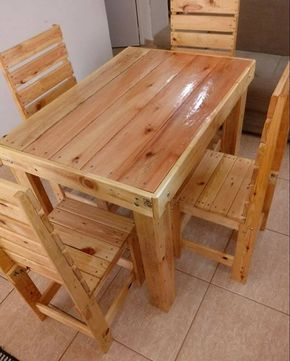 Pallet Furniture Ideas And Outdoor Projects Mesas De Paletes