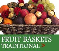 FRUIT BASKETS + FRUIT HAMPERS all Occasions FREE DELIVERY